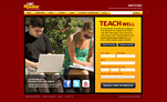 Screenshot of MAT@USC Login page