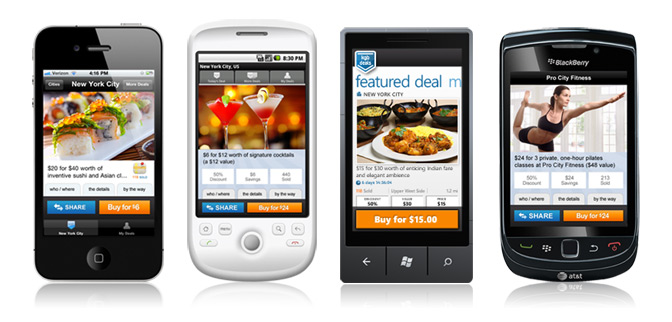 The kgbdeals Mobile Apps