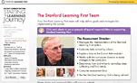 Screenshot of 'Stanford Learning First' online professional development module